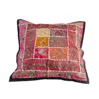 Almohadones decorativos Brillos Funda Chica 42x42 Origen India