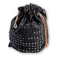 Cartera Bolsito para Fiesta Black Origen India